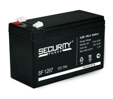 Аккумулятор для эхолота 12В, емкость 7 Ач