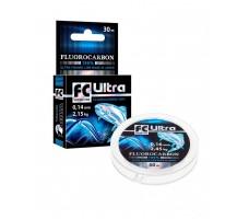 Леска AQUA FC Ultra Fluorocarbon 100% 0,12mm 30m
