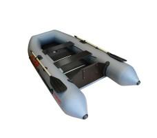Моторно-гребная надувная лодка ПВХ Alfa 280K