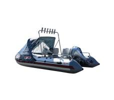 Моторная надувная лодка ПВХ PRO ultra 460