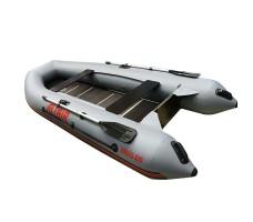 Моторная надувная лодка ПВХ Sirius 335 L Ultra серый
