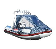 Тент полурубка на лодку ALTAIR 315/360