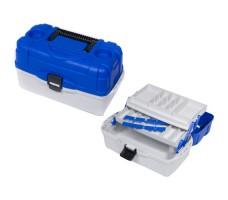 Ящик рыболовный пластиковый Salmo 2х-пол. 012