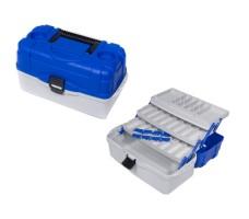 Ящик рыболовный пластиковый Salmo 3х-пол. 033
