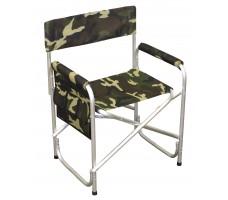 Кресло складное СЛЕДОПЫТ с карманом, алюминий