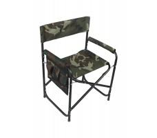 Кресло складное СЛЕДОПЫТ с карманом, сталь