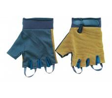 Перчатки туристические СЛЕДОПЫТ хаки, без пальцев