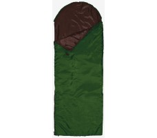 """Спальный мешок-одеяло """"Defender"""" right, зеленый"""
