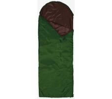 """Спальный мешок-одеяло """"Defender"""" left, зеленый"""